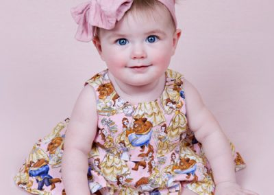 sitter-girl-disney-beauty-beast Baby photography sydney