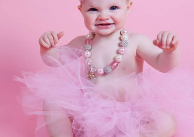 cake-smash-girl-pink-tutu Baby Photography Sydney