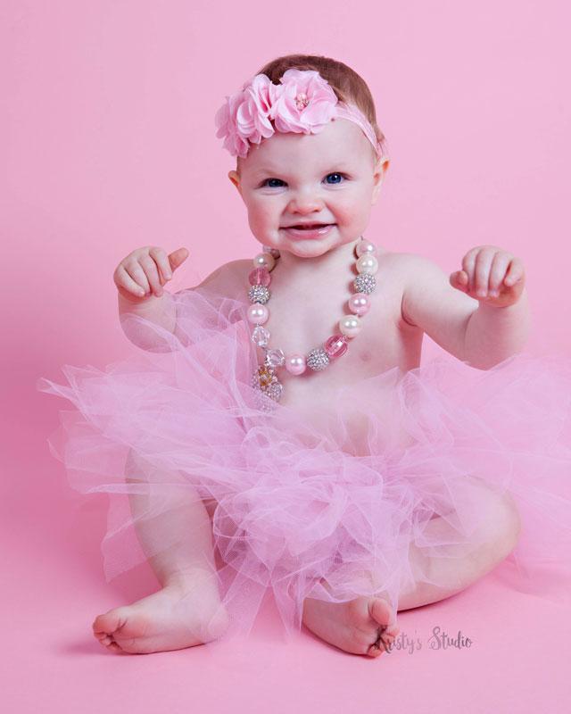 cake-smash-girl-pink-tutu Baby Photography Sydney