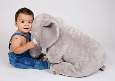 sitter-boy-elephant Baby Photography Sydney