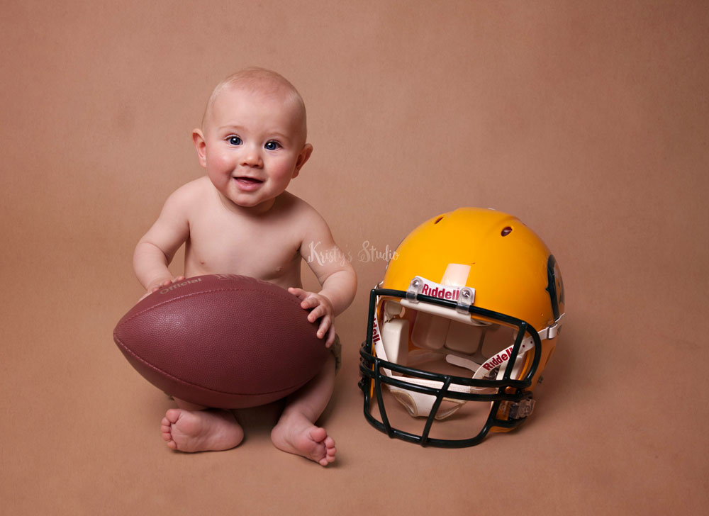 Sitter-baby-boy - gridiron-newborn-photography-sydney