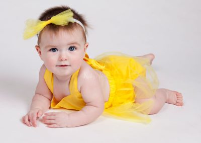 sitter-girl-belle-yellow-beauty-and-the-beast Baby Photography Sydney
