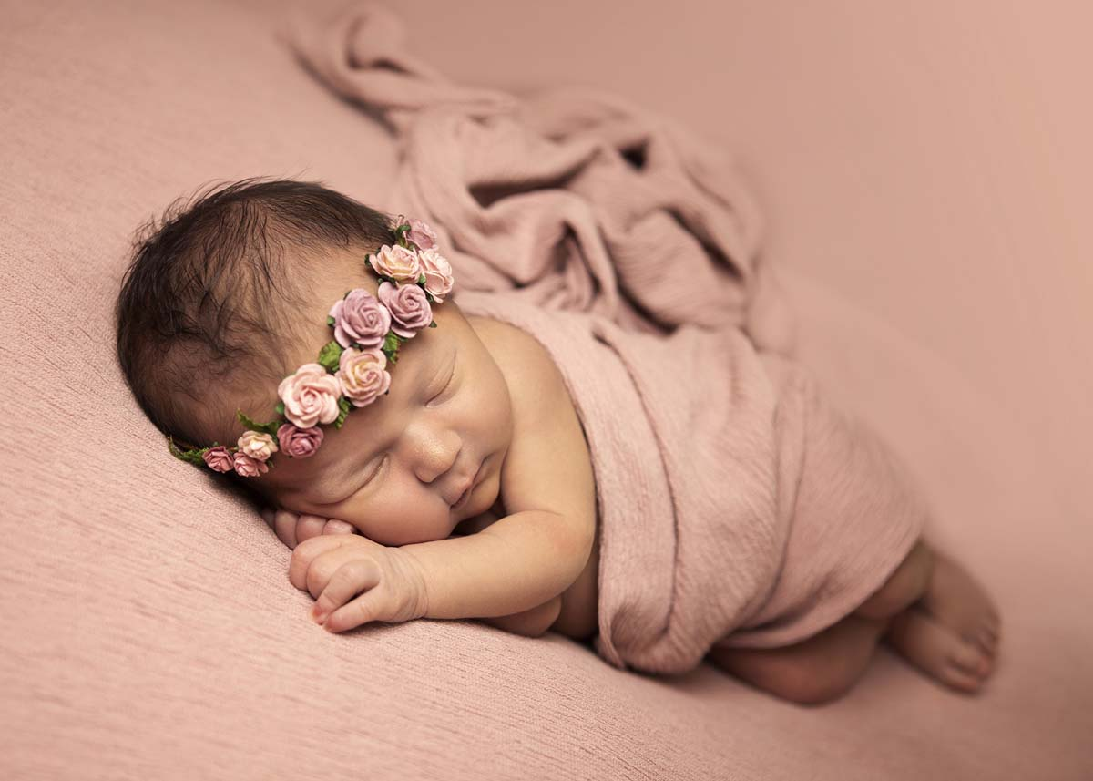 newborn-baby-pink-flower-crown
