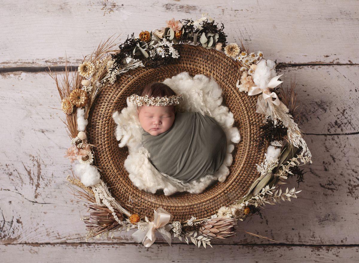 Boho Baby | Newborn Photography Western Sydney