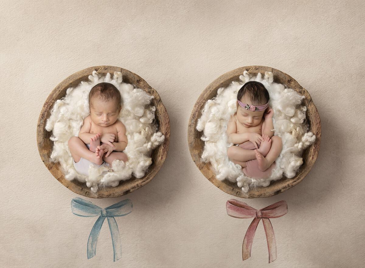Twins Newborn Photography Sydney